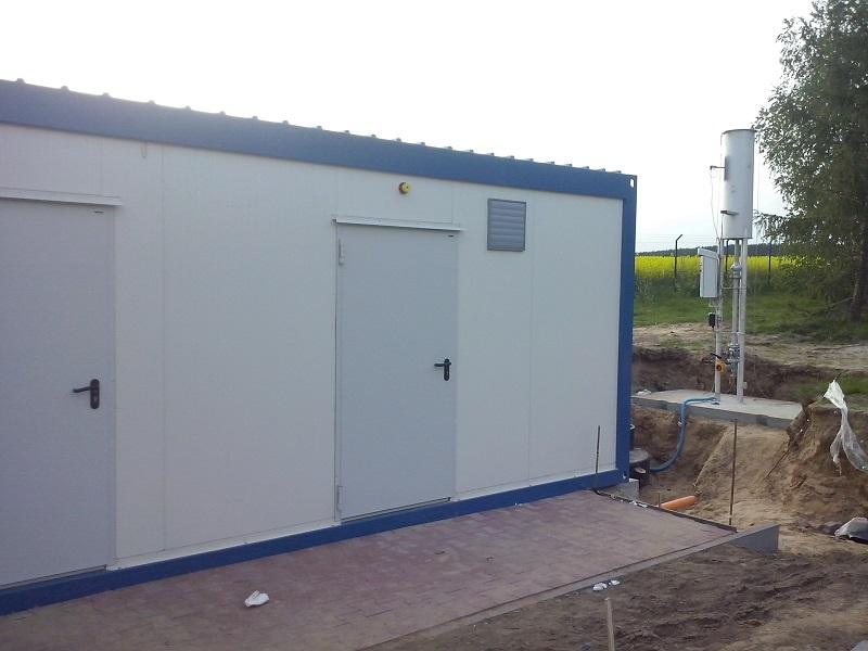 Kompletna stacja sprężania biogazu, dostarczona przez CES dla Zakładu Zagospodarowania Odpadów Komunalnych w Bladowie