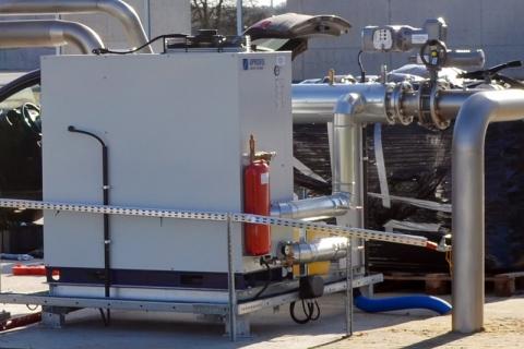 osuszacz biogazu z oferty CES dla zakładu zagospodarowania odpadami w Jarocinie