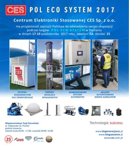 CES na Pol Eco System 2017 - zaproszenie