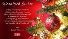 Życzenia na Boże Narodzenie składa CES