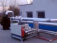 osuszacz biogazu dostarczony przez CES dla oczyszczalni ścieków