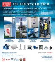 Pol Eco System zaproszenie od CES, osprzęt biogazowy