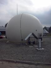 Zbiornik biogazu realizacja CES
