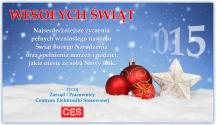 Wesołych Świąt życzy CES